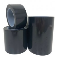 Poly Cover Patch Tape - Black - 108' Long Rolls - *Select Width*